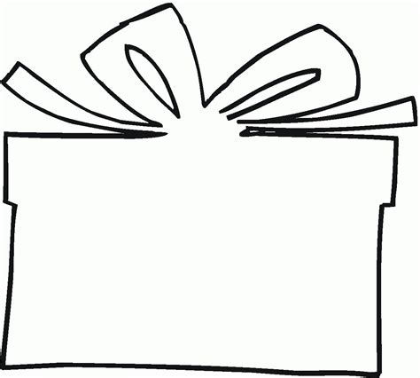 coloring page of gift box gift coloring page coloring home