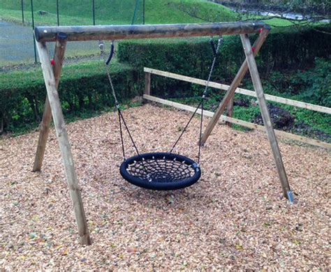 basket swing wooden basket swing children s play equipment caledonia