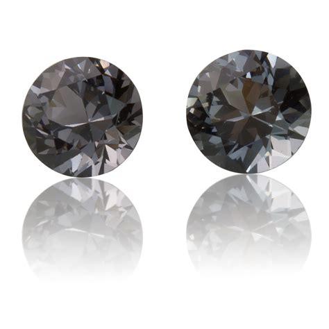 burmese grey spinel pair 1 22ct king gems