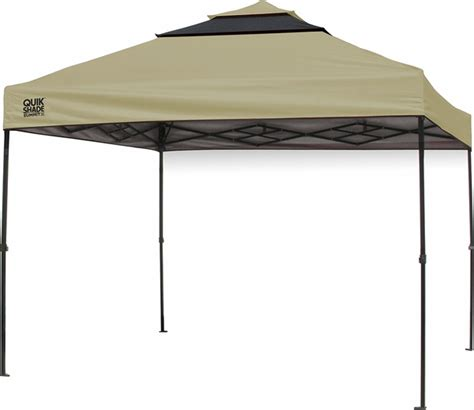instant shade awning quik shade summit sx100 10x10 vented instant canopy