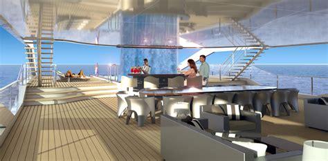yacht upper deck mega yacht maximus upper deck alfresco dining and