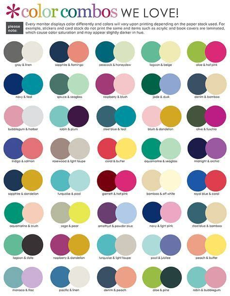 matching color schemes customizable event stickers erin condren color combos