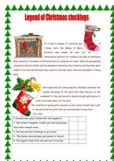 printable christmas reading comprehension ideas about free christmas reading comprehension