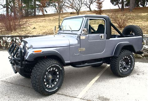 jeep cj8 precisionrestor 1982 jeep cj8 scrambler specs photos