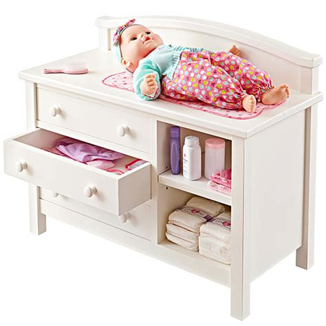 Doll Changing Table Woodworking Plan From Wood Magazine Baby Doll Changing Tables