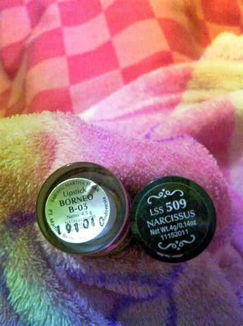 review pink lipstick lokal sariayu color trend 2014