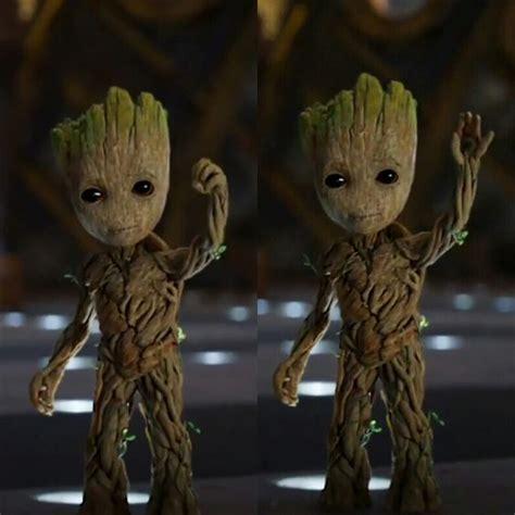 Mainan Figure Grott In Pot Guardian Of The Galaxy 1 amigurumi barmy