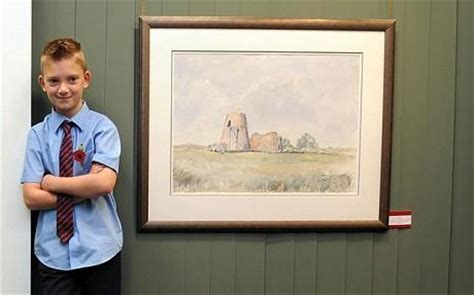 painting for 10 year olds nine year prodigy kieron williamson nets 163 100 000