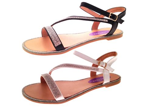 Limited Exclusive Sepatu Wedges High Heels Sandal Flatshoes Flat Laser womens flat diamante summer sandals strappy evening shoes size 3 8 ebay