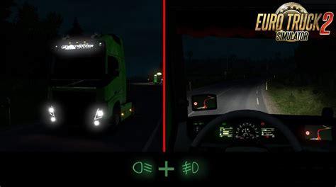mod untuk game ets2 real light by trucker730 187 download ets 2 mods truck