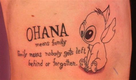 stitch ohana tattoo pin ohana tattoos on