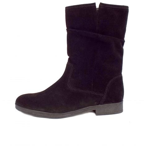 mid calf boots for gabor dolce s mid calf boots black suede