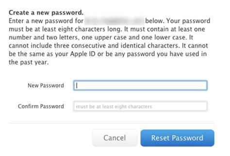 apple reset password image gallery i forgot apple id