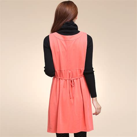 Fashion Advice Maternity Dresses On A Budget by Pregnancy Maternity Skirt Dress Autumn New Knitted Vest