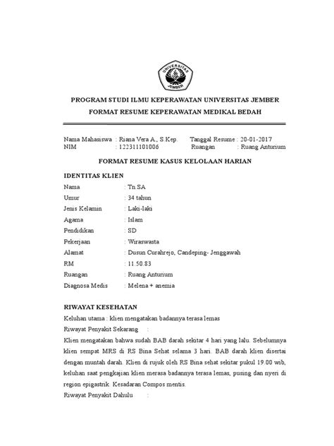 format resume askep jiwa resume 4
