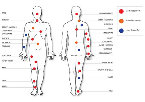 clavicle tattoo pain level pain meter for tattoos a little bit of everything