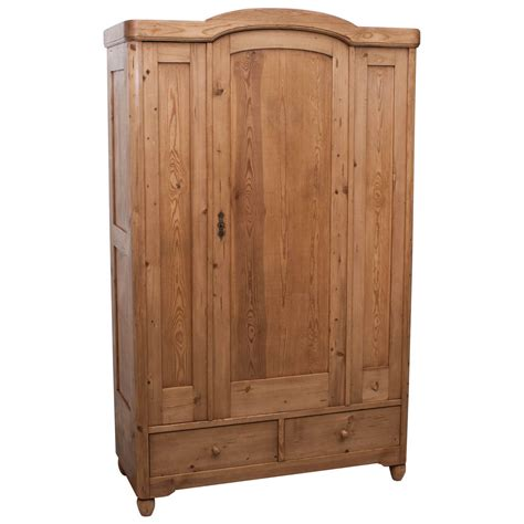 Pine Wardrobe by Pine Armoire At 1stdibs