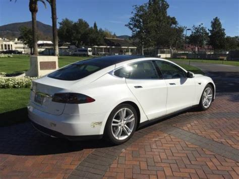 Used Tesla Cars For Sale Used Tesla Model S 2012 85kwh For Sale California