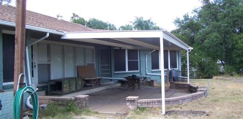 Attached Awnings All Steel Attached Home Patio Awning Northwest San Antonio