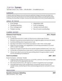 sle event planner resume high school coordinator resume