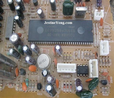 Tv Crt Akari a dead crt tv was brought back to model mieler ml21tv electronics repair and technology