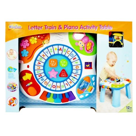 Winfun Letter And Piano Activity Table winfun letter piano activity table