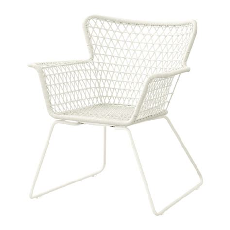 Outdoor Chairs Ikea h 214 gsten chair with armrests outdoor ikea