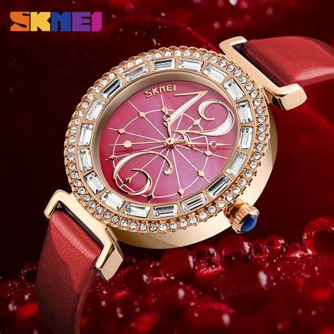 Jam Tangan Wanita Jam Fashion Wanita White skmei jam tangan fashion wanita 9158 white jakartanotebook