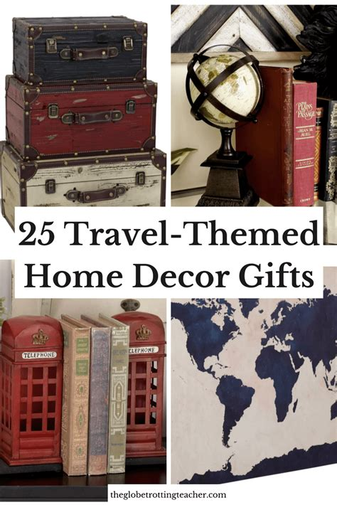 travel themed home decor 25 wonderful wanderlust decor gifts every traveler is sure