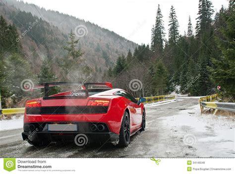 Landscape Photography Vehicle Car Stock Photo Image Of Lamborghini Mountain Water