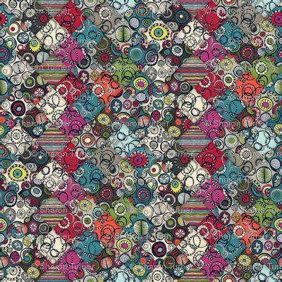 pattern maker honolulu honolulu diamonds fabric scrummy spoonflower