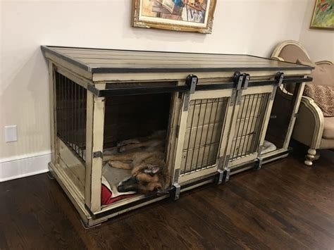 sleep tight indoor double extra large dog kennel replace