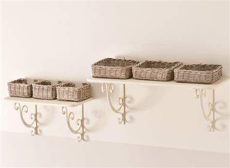 mensole in ferro battuto set 2 mensole provenzali ferro battuto outlet mobili etnici