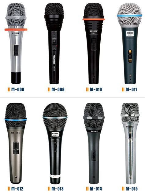 High Perfomance Studio Microphone Conference Meeting Clear Sound factory direct sale low price high quality wired microphone dynamic condenser microphone for