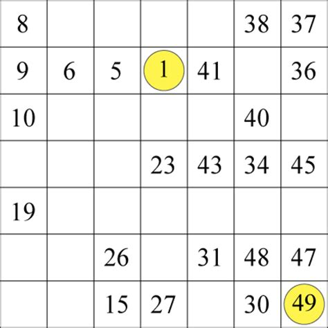 printable hidato puzzle hard 7 by 7 hidato 1 and 2