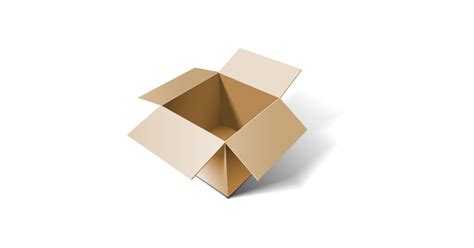 cardboard box  vector  png  graphic cave