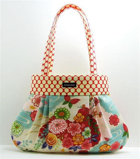 Handmade Cloth Purses - fabric handbags 8 handbag ideas