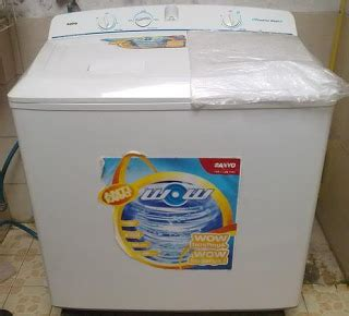 Mesin Cuci Sanyo Tabung 2 elektronik jenis mesin cuci dan servis