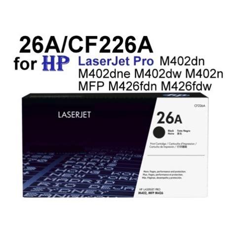 Toner Hp 26a hp laserjet pro m402dn m426fdn toner cartridge 26a