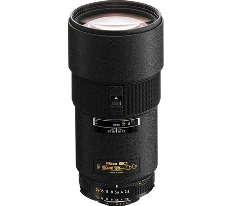 nikon nikkor 180 mm f 2 8 if ed af telephoto prime lens