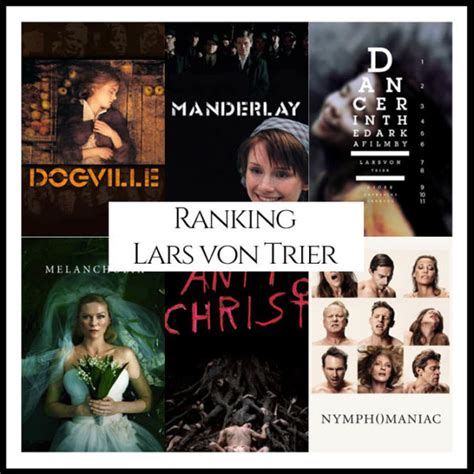 film fantasy ranking lars von trier filmography movie ranking cinema