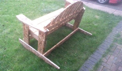 recycled wood bench recycled pallet rocking bench pallet ideas recycled upcycled pallets furniture
