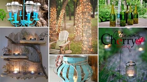 11 absolutely brilliant diy garden lighting projects