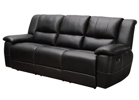 Small Black Leather Sofa Small Black Leather Home Furniture Design