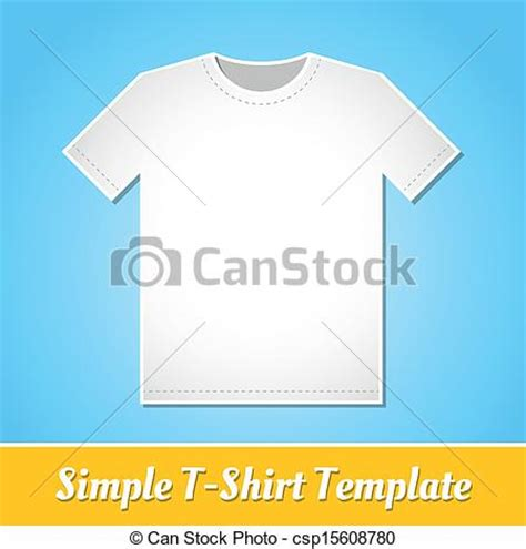 simple t shirt template vector of simple t shirt template simple white t shirt