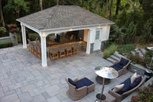 pool house bar custom carpentry cabanas pool houses long island