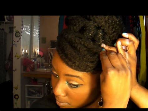 natural hair bun styles with bang marley hair styling ideas newhairstylesformen2014 com