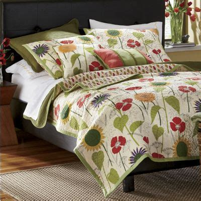 Countrydoor Quilts by Garden Oversized Quilt Sham And Decorative Pillows