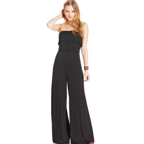 dressy jumpsuits at macys for women american rag macy s black jumpsuit from christy s closet