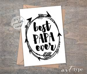 best papa s day card instant 5x7